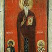 Иоанн Лествичник, Георгий и Власий. Конец XIII в.jpg